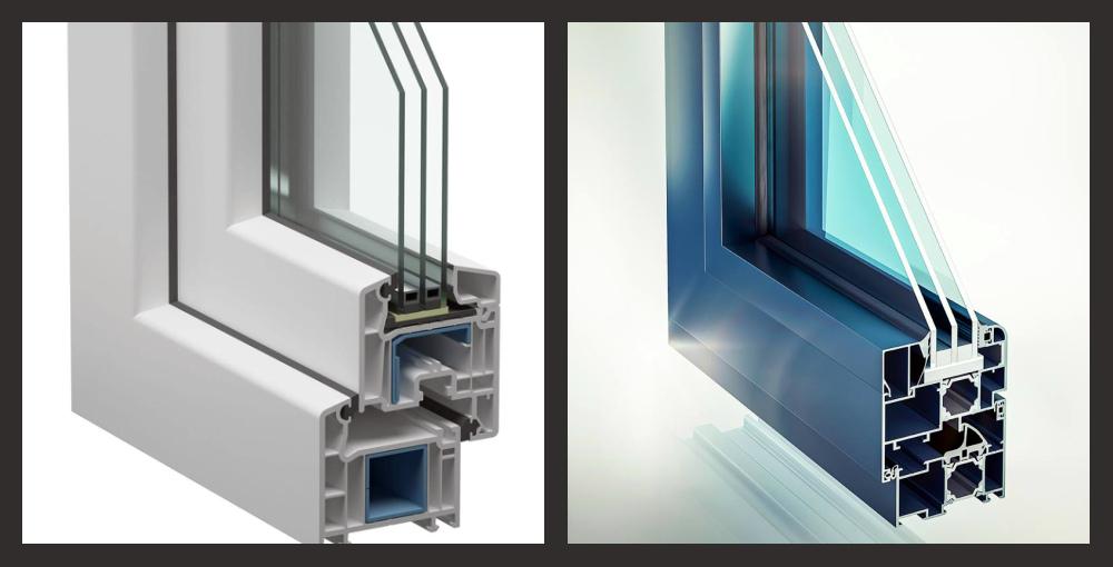 Алюминиевое и пластиковое окна